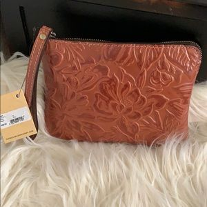 PATRICIA Nash Wristlet pouch Dusty Rose collection